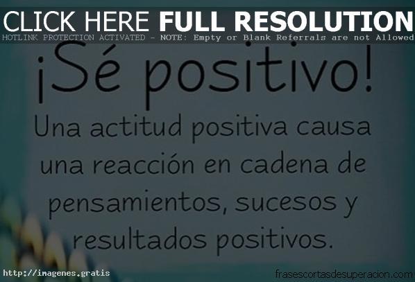 Pensamientos positivos de motivacion cortos