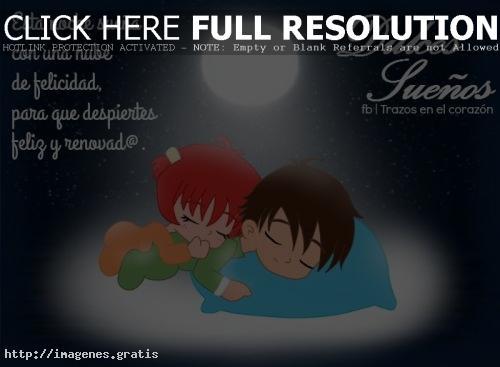 Tarjetas de buenas noches amor te amo