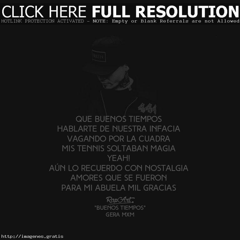 Frases de canciones de Gera MXM