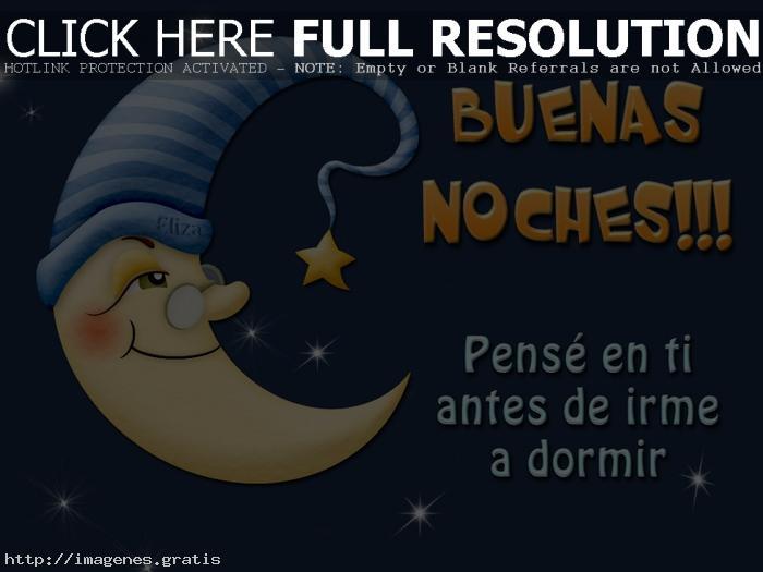 Buenas noches con cariño
