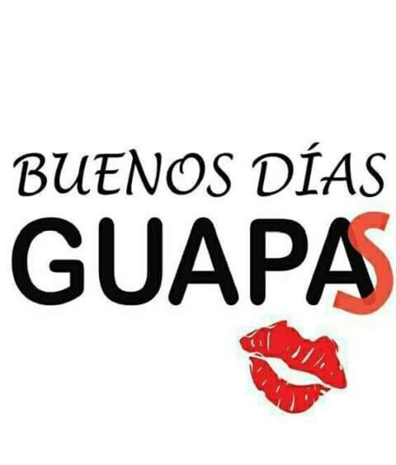 Postales de Buenos dias para chicas