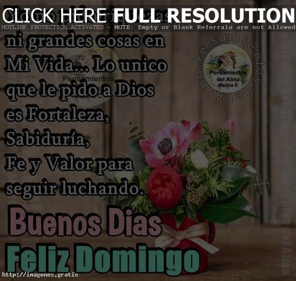 Imagenes con bendiciones de Feliz Domingo