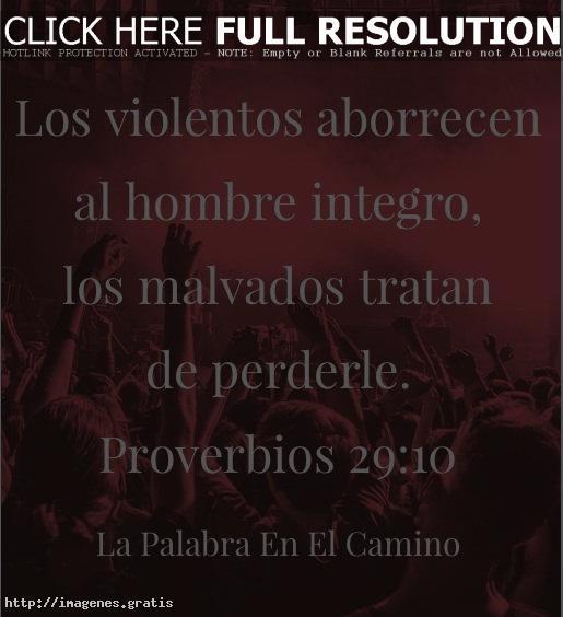 Los violentos