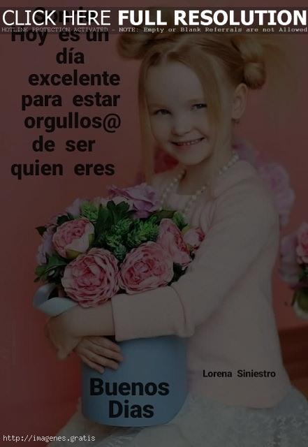 Saludos de Buenos Días para Mujeres con Muchas Imagenes: sonrie